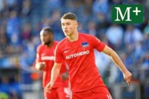 Hertha BSC: Hertha-Debütant Gechter: Im Eiltempo zum Bundesligaspieler