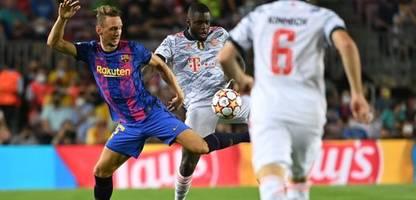 Champions League: FC Barcelona ohne Chance gegen die Bayern: Im Sturzflug