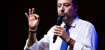 Italien: Matteo Salvini wegen Blockade von Flüchtlingsschiff vor Gericht