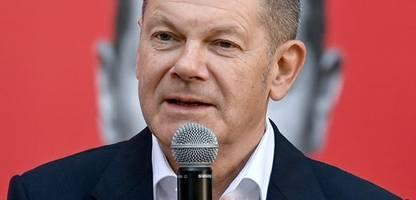 Olaf Scholz in ZDF-Sendung »Klartext«: »Es wird keinen Spielraum für Steuersenkungen geben«