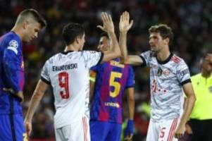 Champions League: Bayern demütigt Barcelona erneut: Klarer Sieg im Camp Nou