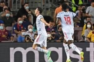 Champions League: Ganz wichtiges Signal: Bayern bezwingen Barcelona mit 3:0