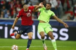 Champions League: Torlos in Lille: VfL Wolfsburg rettet Punkt in Unterzahl