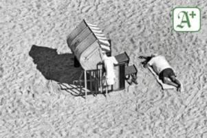 fotografie: maritim hotel: strandszenen aus travemünde