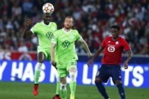 Fußball: VfL Wolfsburg rettet Punkt in Unterzahl: 0:0 beim OSC Lille