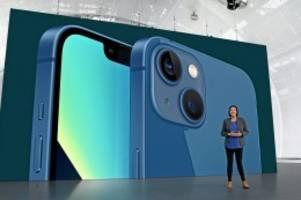 Smartphones: Apple-Keynote: Das können iPhone 13 und iOS 15