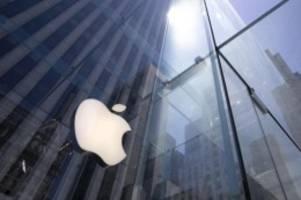 Tech-Konzern: Neue Generation des Apple iPhones erwartet