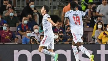 Champions League - Ganz wichtiges Signal: Bayern bezwingen Barcelona mit 3:0