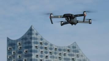 Hafen wird Blaupause für Drohnen-Lufträume: Erste Testflüge