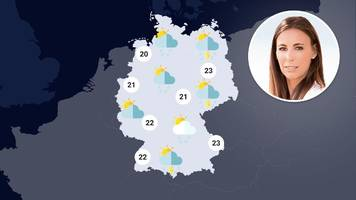 wetter in deutschland: wo es die woche kräftig blitzt,  donnert und regnet