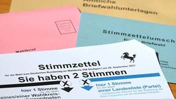 Deutlich mehr Briefwahl-Anträge vor Bundestagswahl