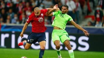 Champions League: Schwacher VfL Wolfsburg rettet in Lille Punkt in Unterzahl