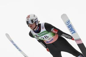 Gestürzter Skispringer Tande vor Comeback