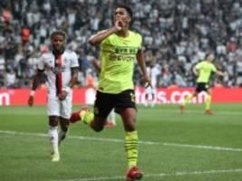 Champions League: Dortmund besiegt Besiktas Istanbul mit 2:1