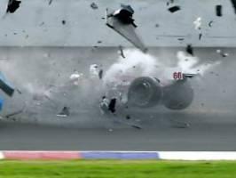 horrorcrash vor 20 jahren: als es zanardi bei 320 km/h die beine zerfetzte
