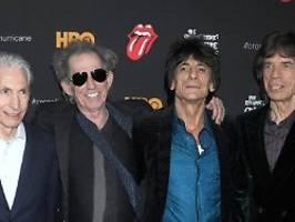 Paint it black: So ehren die Rolling Stones Charlie Watts