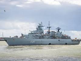 Schiff kreuzt im Indopazifik: China will deutsche Fregatte nicht empfangen