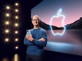 Keine Euphorie trotz iPhone 13: Apple kann US-Anleger nicht verzücken