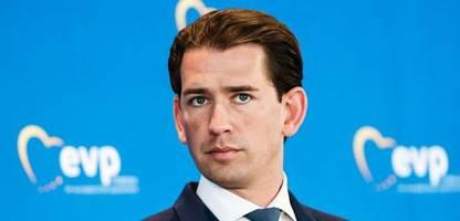 Österreich: Kanzler Sebastian Kurz gerät zunehmend in Bedrängnis