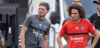 Europa League: Trainer Oliver Glasner bei Eintracht Frankfurt gesperrt – weil er zu spät kam