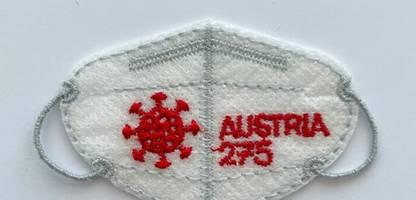 Österreich: Post bringt Briefmarke als FFP2-Maske heraus