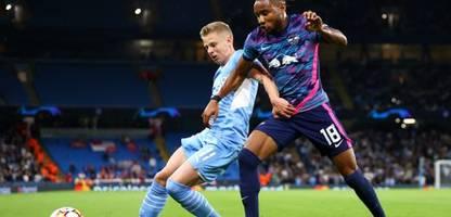 Champions League: RB Leipzig unterliegt Manchester City 3:6