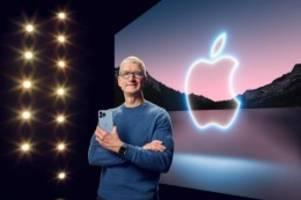 Apple: iPhone 13 soll mit besserer Kamera überzeugen