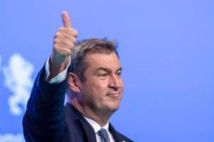 Bundestagswahl: Söder sieht Anzeichen einer Trendwende