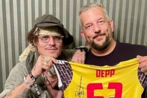 Volleyball: Hollywoodstar Johnny Depp will Bundesligaclub helfen