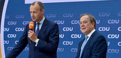Laschet und Merz präsentieren ihre Pläne für Wirtschafts- und Finanzpolitik