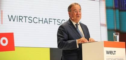 Laschet kündigt starkes Digitalministeriums an, sollte er Kanzler werden