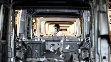Zuwachs: Industrieproduktion in der Eurozone steigt deutlich