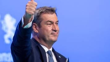 Bundestagswahl: Söder sieht Anzeichen einer Trendwende zugunsten der Union