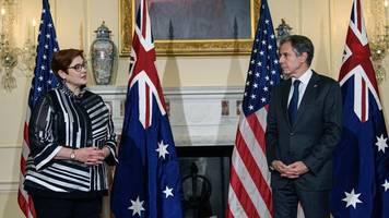 indopazifik-raum - indopazifik: usa wollen australien atom-u-boote ermöglichen