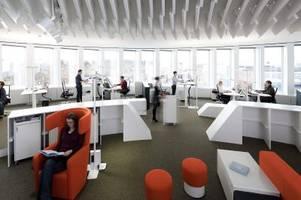 Das Büro der Zukunft ist für manche schon Gegenwart