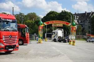 Plärrer-Vergnügungspark in Augsburg ist vorbei - die Schausteller sind zufrieden
