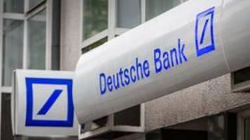 deutsche bank kassiert studie aus dem eigenen haus
