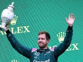 Auch 2022 im Aston Martin: Vettel hängt noch eine Formel-1-Saison dran