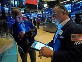 Lethargischer Handel: Dow macht Verluste großteils wieder wett