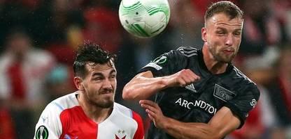 Conference League: Union Berlin verliert gegen Slavia Prag
