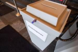 Bundestag: Knapp 2,3 Millionen Wahlberechtigte zur Bundestagswahl