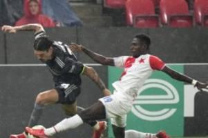 Conference League: Union belohnt sich nicht: Bitteres 1:3 bei Slavia Prag