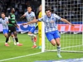 Bundesliga: Ekkelenkamp führt Hertha zum 2:1-Sieg