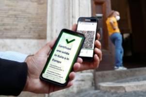 Pandemie: Italiens Corona-Hammer: Impfpflicht für alle Arbeitnehmer