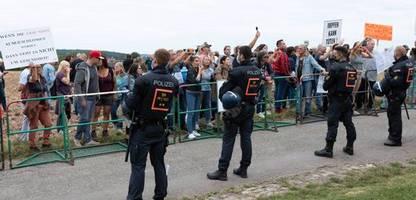Bundestagswahl: »Querdenker« stören Wahlveranstaltungen