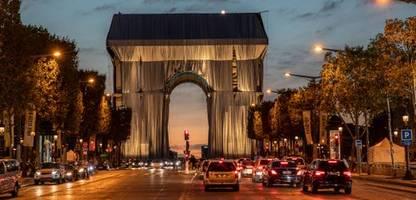 Christo: Verhüllter Triumphbogen in Paris - »Er sagte, versprich mir, dass du das zu Ende führst«