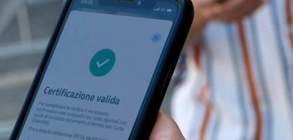italien verpflichtet arbeitnehmer zur vorlage von gesundheitspass