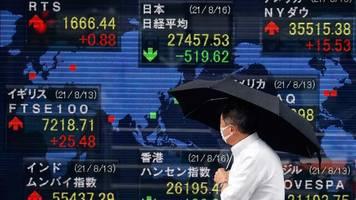 Asiatische Märkte: Asiatische Börsen stabilisieren sich trotz Sorgen um globales Wachstum