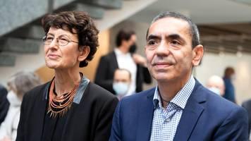 Köln: Biontech-Gründerpaar Türeci und Sahin erhält Ehrendoktorwürde