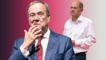Streit um Razzia: Darum kracht es zwischen Armin Laschet und Olaf Scholz